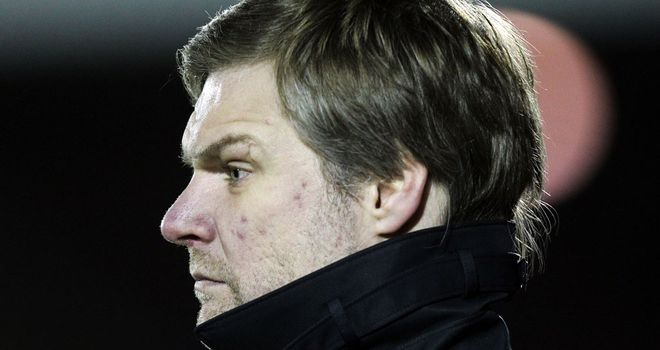 Steven Pressley: Coventry keen on Falkirk boss after three weeks without a permanent manager