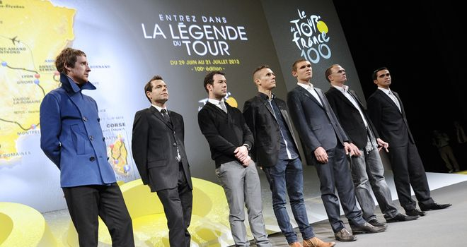 Wiggins, Froome and Cavendish joined other big names