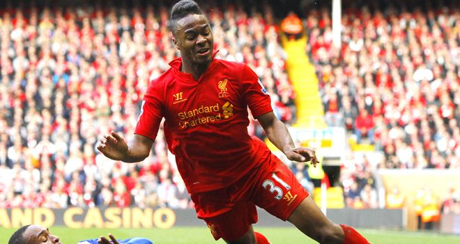 Raheem Sterling was the star of the show in the win over Reading