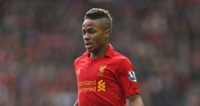 Raheem Sterling: In contract talks with Liverpool