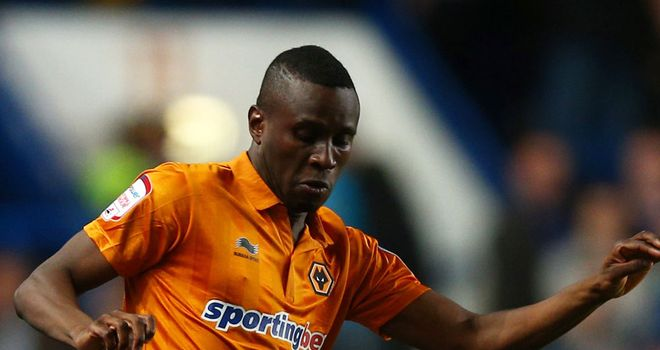 Razak Boukari: On his way out of Wolves after joining Sochaux on trial