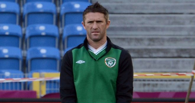 Robbie Keane: Back in the Ireland side after recovering from an Achilles problem
