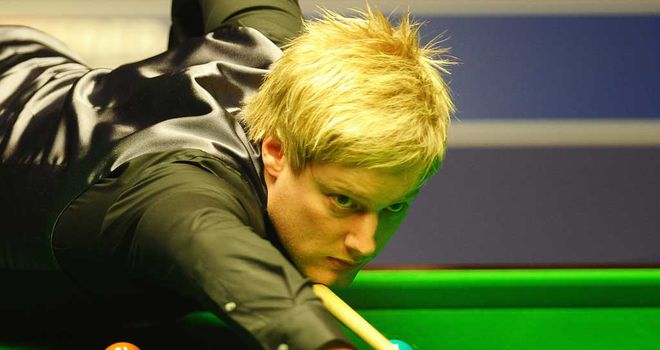 Neil Robertson: Recorded four century breaks in win over Tom Ford