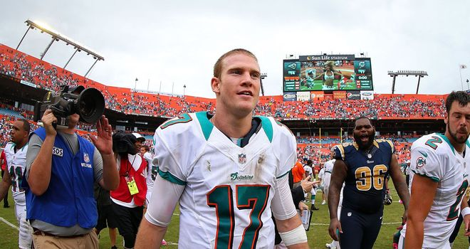 Ryan Tannehill: threw for 185 yards with no turnovers, as well as two touchdowns