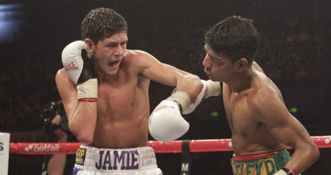 Jamie McDonnell: Beat Darwin Zamora in his last outing (Pic Lawrence Lustig)