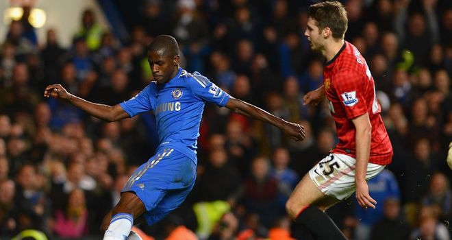 Ramires: Scored Chelsea&#39;s fifth in win over Manchester United