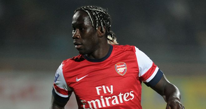 Bacary Sagna: Pleased with how he has improved since moving to Arsenal
