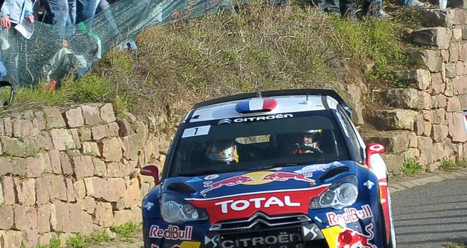 Sebastien Loeb: Well placed for victory charge at Rally of Spain