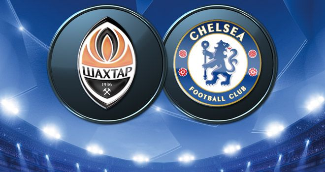 Tough task: Chelsea visit a Shakhtar Donetsk side who are on a record-breaking 21-game domestic winning run