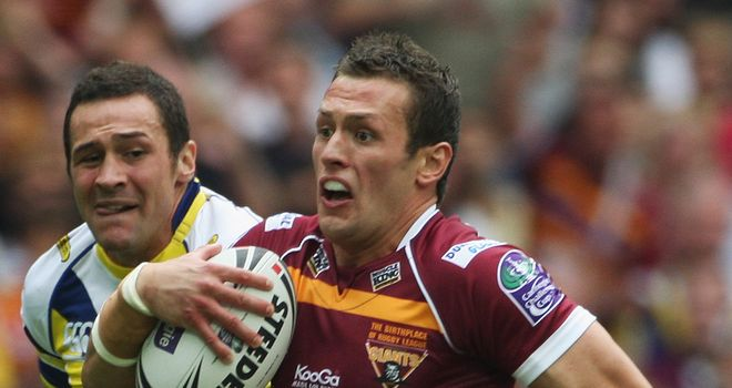 Shaun Lunt: Still has three years to run on his contract with the Huddersfield Giants