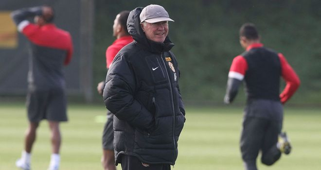 Sir Alex Ferguson: Manchester United manager ready for Stoke test