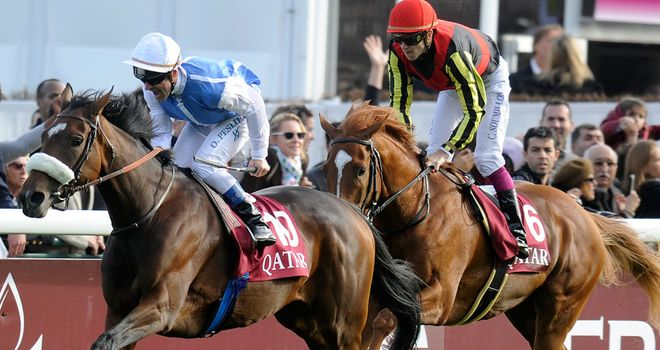 Solemia provided Olivier Peslier with a fourth Arc de Triomphe