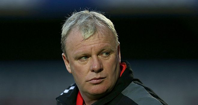 Steve Evans: Has different targets