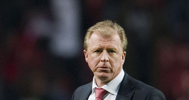 Steve McClaren: Seen his side go out