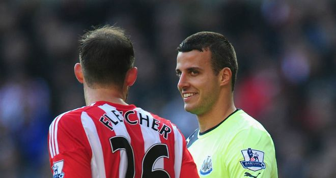 Steven Taylor: Newcastle United defender was the target of chants from Sunderland supporters