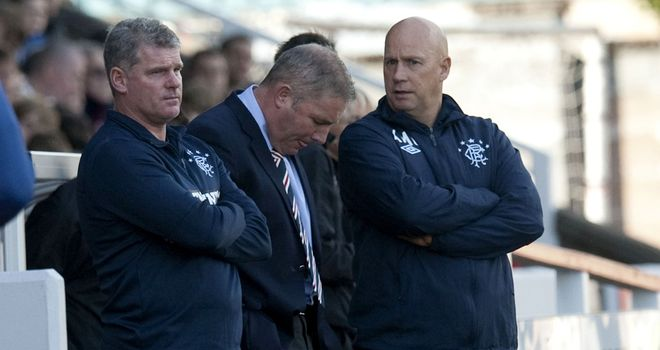 Ally McCoist: Rangers chief executive Charles Green insists manager's job is safe