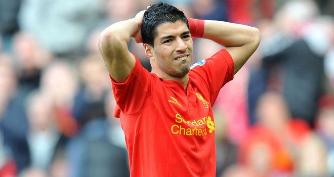 Luis Suarez: Must carry the burden for Liverpool, says Rodgers