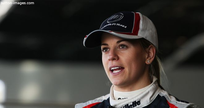 Susie Wolff: Will get more F1 track time in 2013