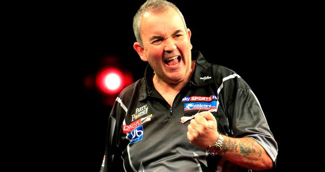 Phil Taylor: Faces 2010 champion Scott Waites in William Hill Grand Slam of Darts