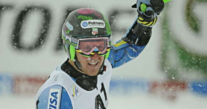 Ted Ligety: Finished almost three seconds clear of Manfred Moelgg
