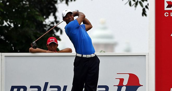 Tiger Woods: nicely in contention after strong finish