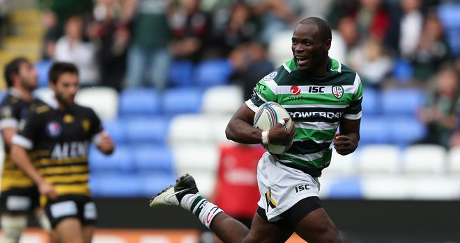Topsy Ojo: The winger returns for London Irish's final group game in Europe