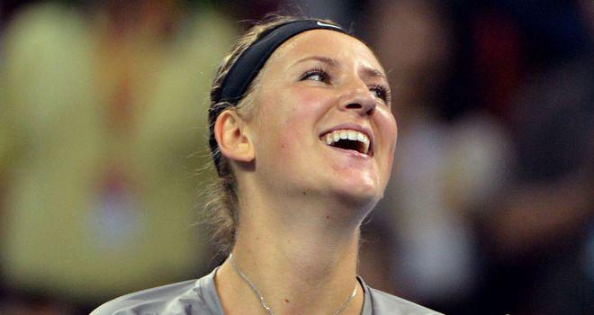 Victoria Azarenka: Clinched the China Open on Sunday with a 6-3 6-1 win over Maria Sharapova