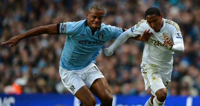 Vincent Kompany: Rejected talk of a crisis at Manchester City