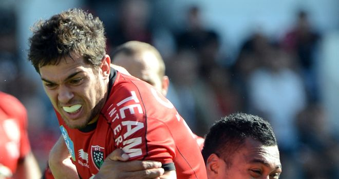 Vincent Martin: Has agreed a new deal with Toulon
