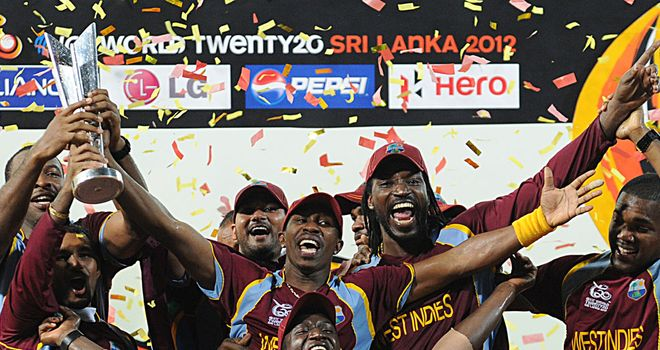 West Indies: their three-week party ended in glory