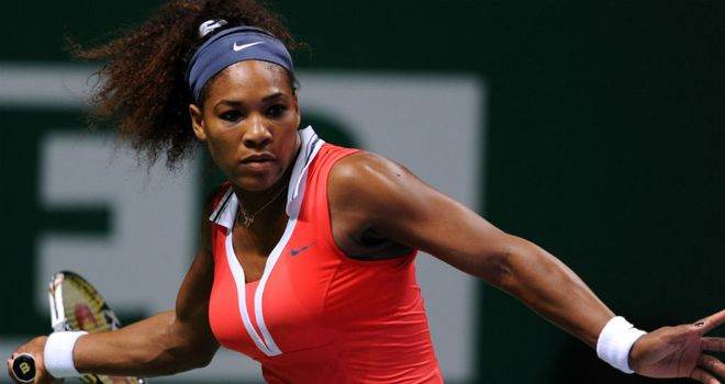 Serena Williams: Proved too hot for Agnieszka Radwanska