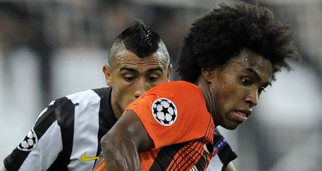 Willian: Shakhtar Donetsk playmaker has reportedly been the subject of two bids from Chelsea