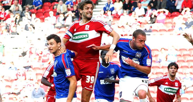 Jonathan Woodgate: Misses out for Middlesbrough
