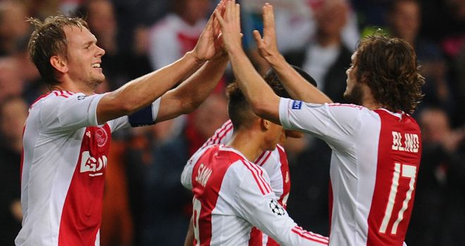 Ajax: Confident after beating Manchester City in midweek