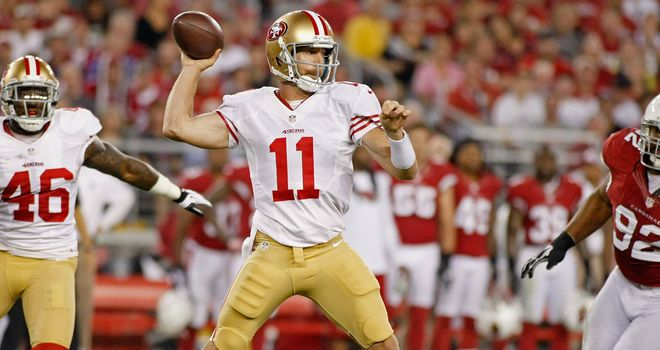 Alex Smith: San Francisco quarterback lost job to Colin Kaepernick last season