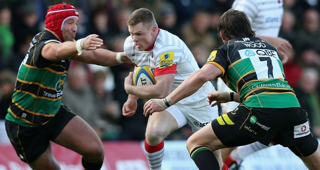 Chris Ashton: could miss England's clash with Fiji