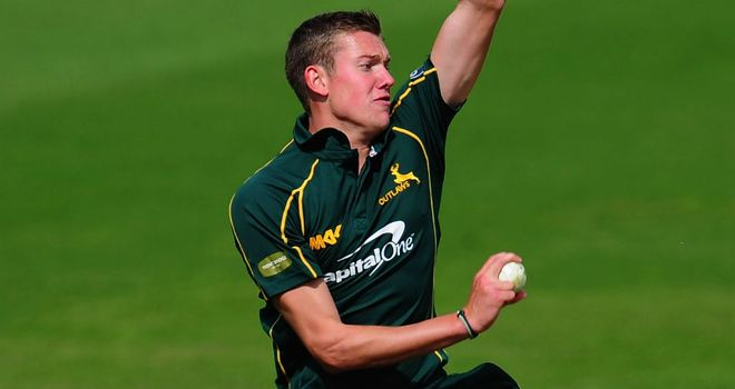 Jake Ball: made just one first-class appearance so far in his career