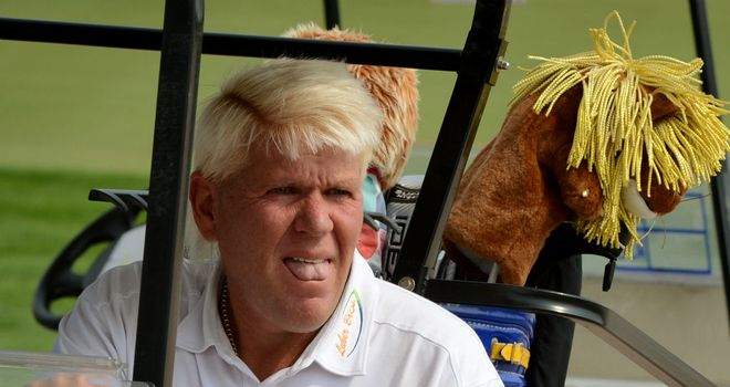 John Daly: Looking to secure himself a European Tour card