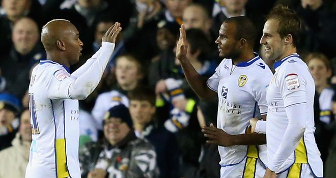 El Hadji Diouf: linked superbly with Leeds team-mate Tonge, said Robbie Fowler