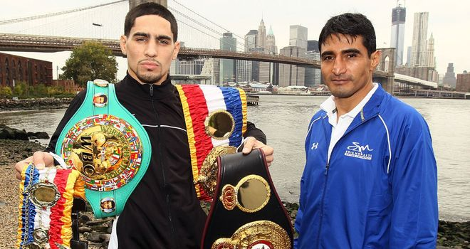 Danny Garcia and Erik Morales: went the full 12-round distance in their first fight back in March