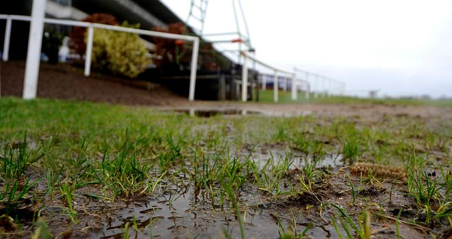 Waterlogging claimed Downpatrick fixture
