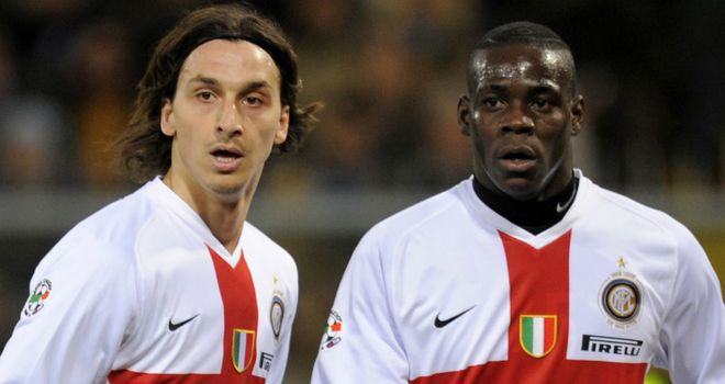 Zlatan Ibrahimovic and Mario Balotelli: Admired by AC Milan but not expected to join Italian club