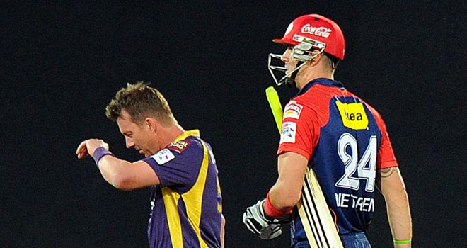 Kevin Pietersen returned but failed to score heavily in the Champions League clash