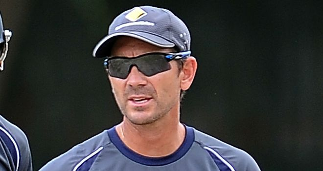 Justin Langer: spent a highly-productive stint with Somerset towards the end of his playing career