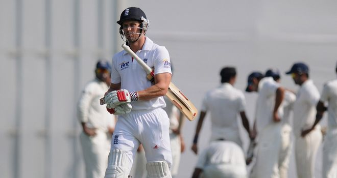 Nick Compton: failed to make the most of his opportunity in England's opening tour match