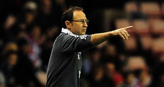 Martin O'Neill: Sunderland manager determined to be a success at the Stadium of Light