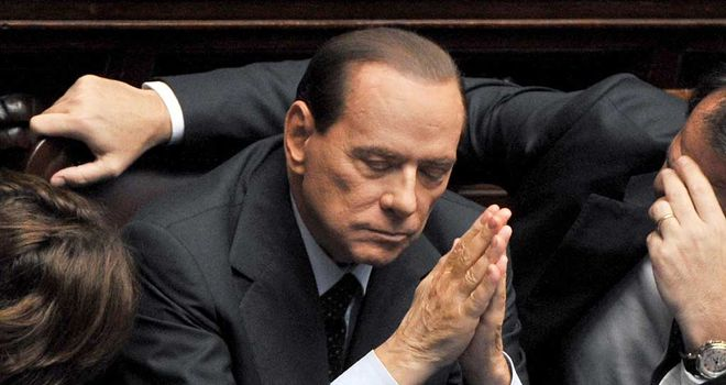 Silvio Berlusconi: Four years for tax evasion