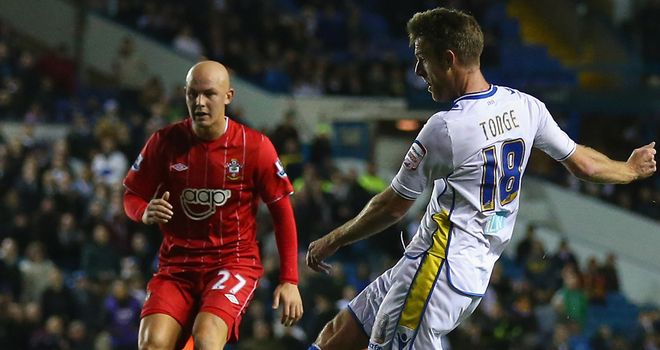 Michael Tonge: Netted Leeds' opener as they saw off Southampton