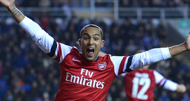 Theo Walcott: Arsenal winger keen to play in a central striking role