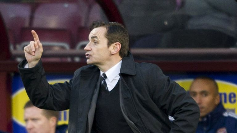 Danny Lennon: Pleased with draw at Ross County